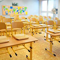 Školní lavice a židle
