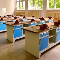 Vybavení pro dílny a odborné učebny